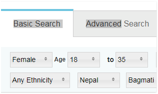 Change Search Settings on a Plenty of Fish