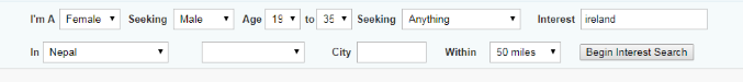 POF Boston Search Function