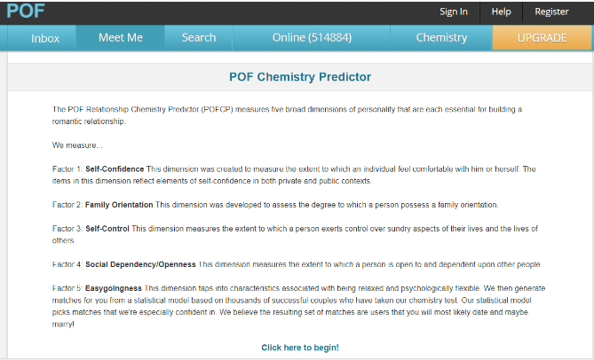 How To Take The POF Relationship Chemistry Test