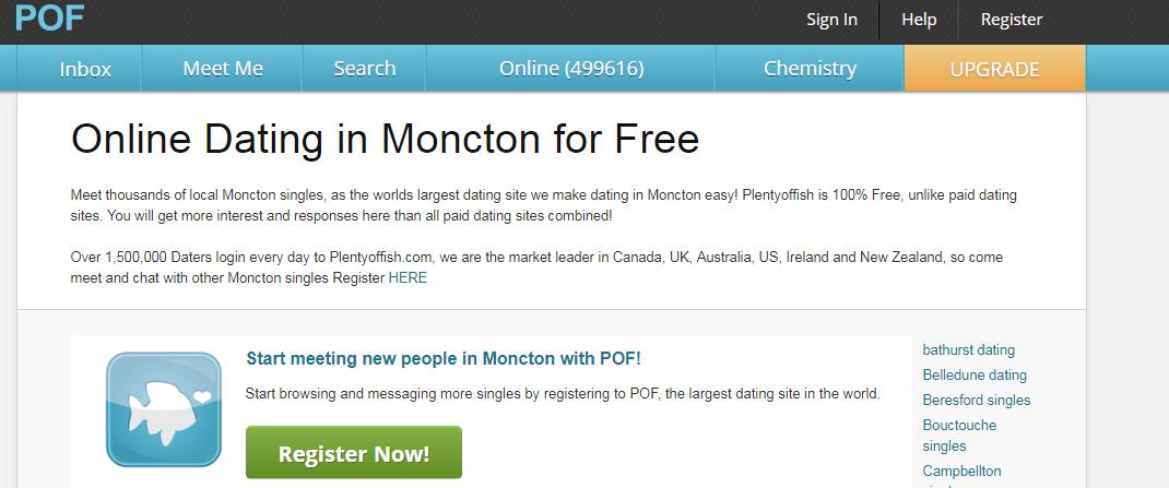 POF Moncton Login And Reset