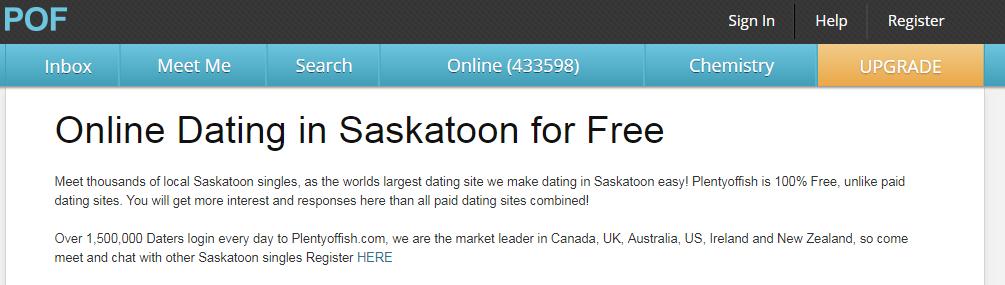 Plenty Of Fish Saskatoon Login and Reset