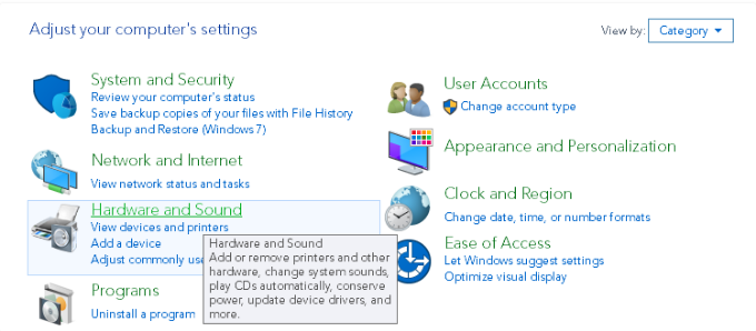 POF Cam Activation Settings