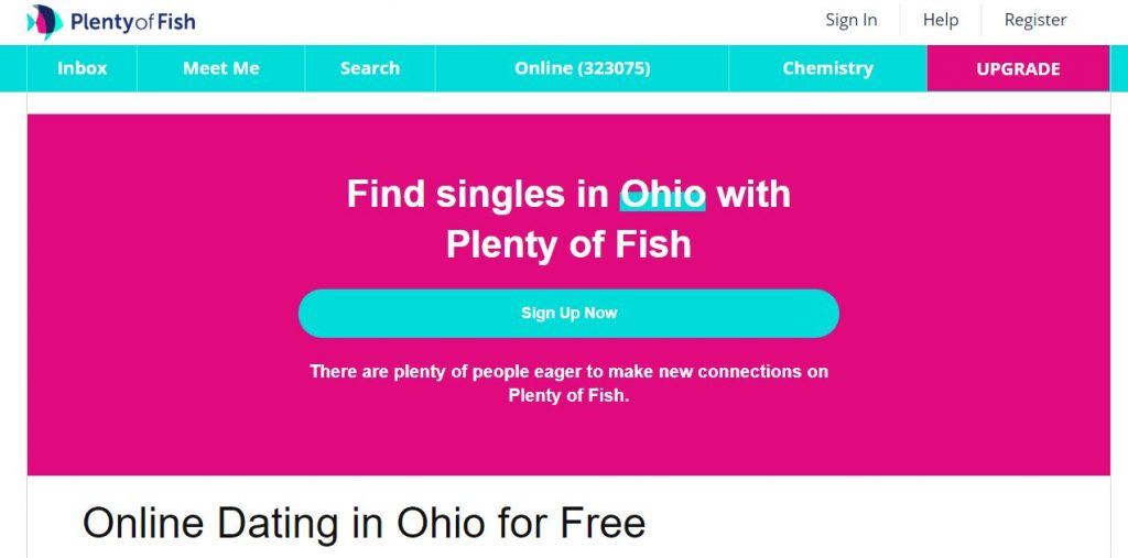 Plenty Of Fish Ohio Login And Reset